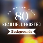 80 beautiful frosted backgrounds