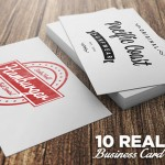 10 Realistic Business Card Mockups