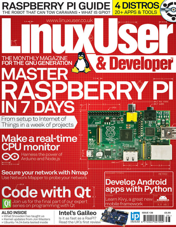 Linux User & Developer 138<