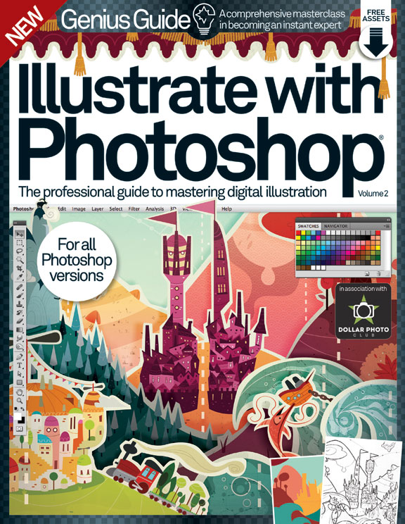 Illustrate with Photoshop Genius Guide: Volume 2<