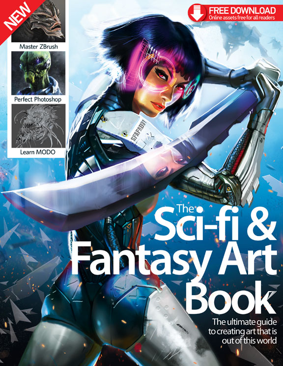 The Sci-Fi & Fantasy Art Book Volume 1: Revised<
