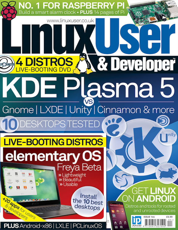 Linux User & Developer 144<