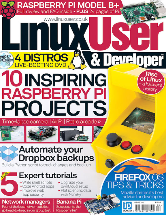 Linux User & Developer 143<