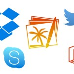 Flat icons for Mac OS X