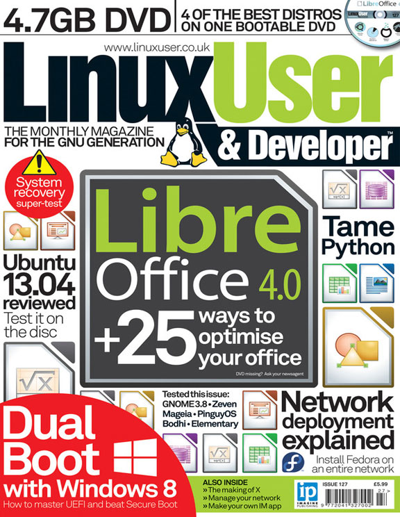 Linux User & Developer 127<