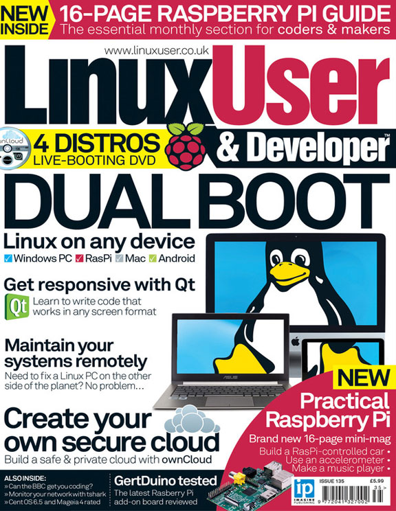 Linux User & Developer 135<
