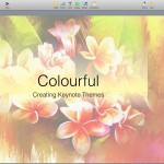 Colourful Keynote template
