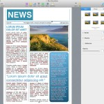 Newspaper Pages template