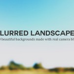30 blurred landscape images