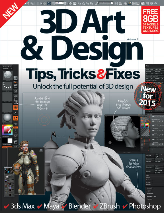 3D Art &#038; Design Tips, Tricks and Fixes &#8211; First Revised Edition<