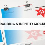 8 Clean branding and identity mockups