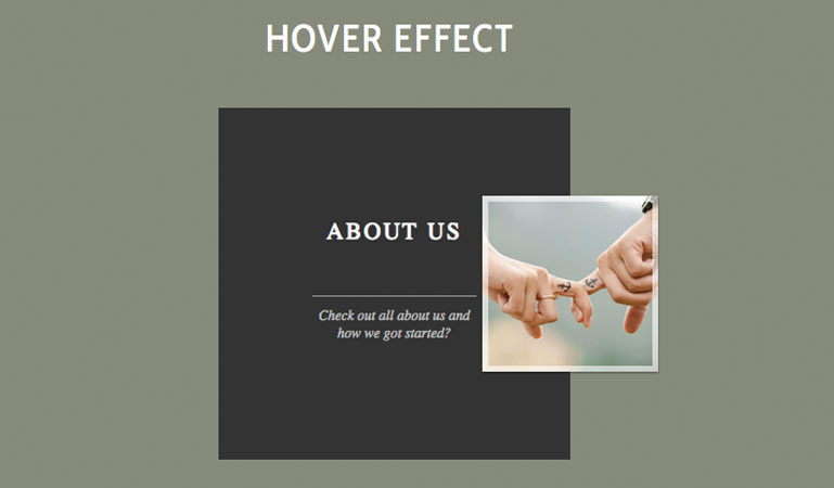 Code clever hover effects | FileSilo co uk