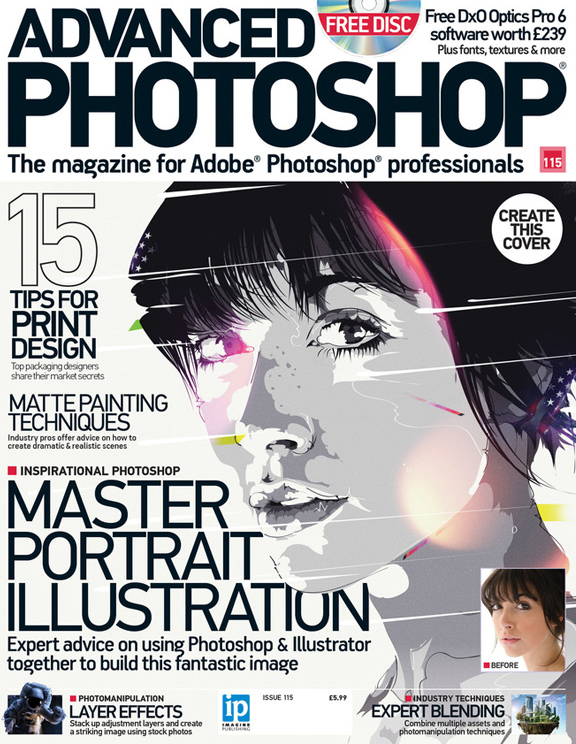 Advanced Photoshop 115<