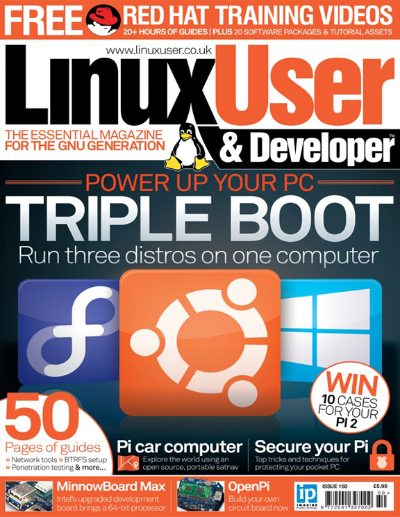 Linux User & Developer 150<