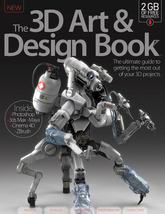 3D Art & Design Book – Volume 4<