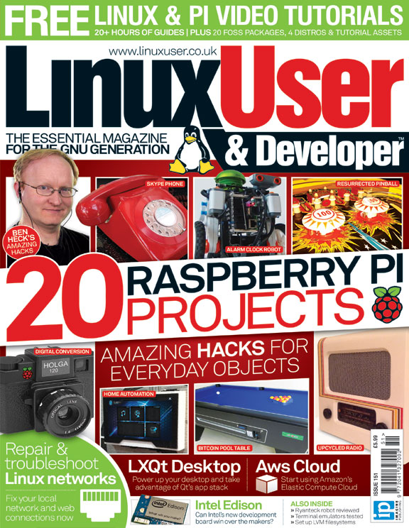 Linux User & Developer 151<