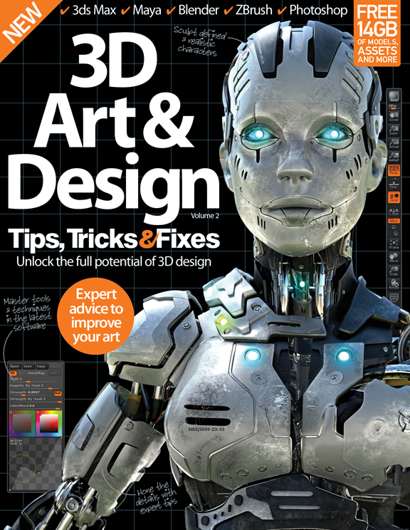 3D Art & Design Tips, Tricks and Fixes – Volume 2<