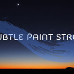 10 Subtle Paint Strokes