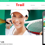 Trail responsive Template