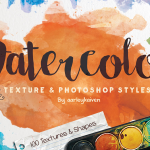 100 Watercolour Textures and Styles