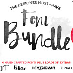 4 Hand-crafted fonts