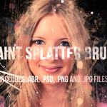 50 Paint Splatter Brushes