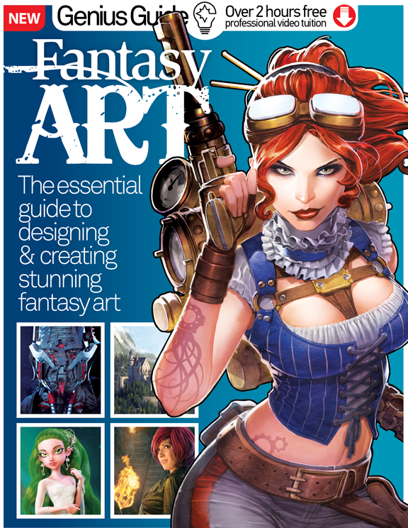 Fantasy Art Genius Guide Volume 3<