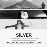 28 Real B&W Film Emulations