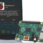 Send an SMS from your Pi