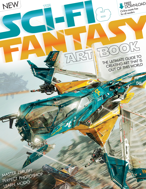 The Sci-Fi & Fantasy Art Book 3rd Revised Edition<