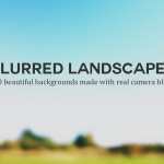 30 Beautiful blurred landscape backgrounds