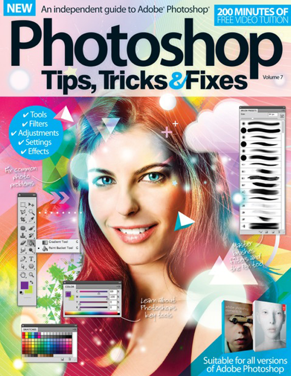 Photoshop Tips, Tricks &#038; Fixes &#8211; Volume 7 Revised<