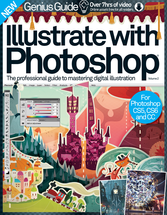 Illustrate with Photoshop Genius Guide: Volume 2 Revised<