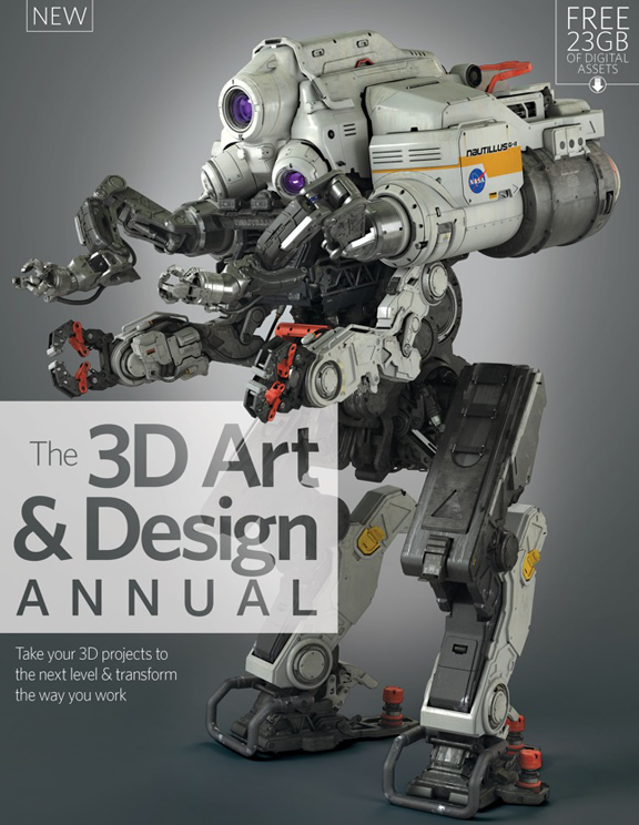 3D Art & Design Annual – Volume 1<