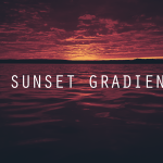 20 sunset gradients