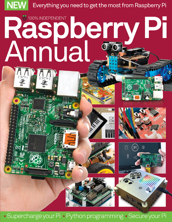 Raspberry Pi Annual 2016<