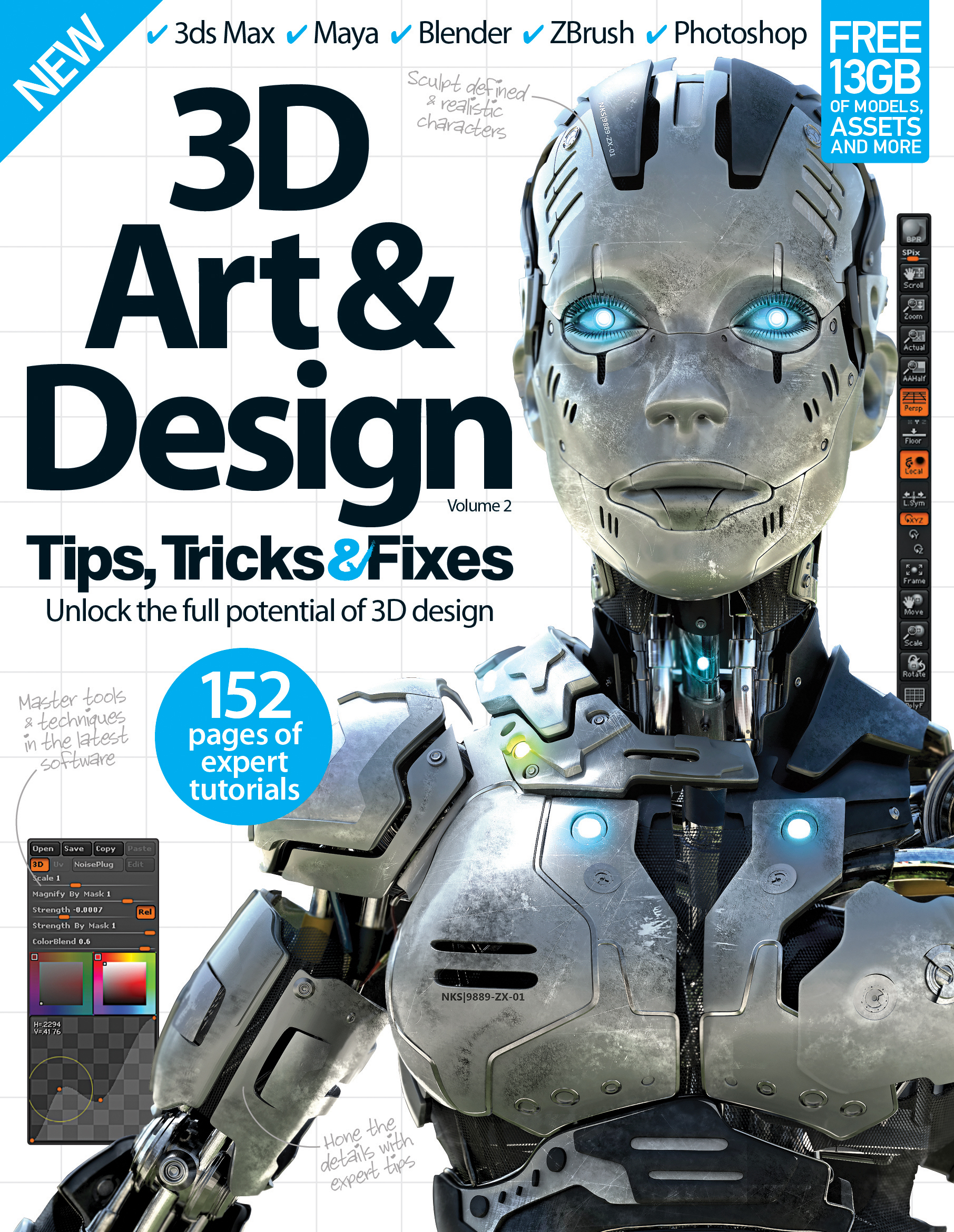 3D Art & Design Tips, Tricks and Fixes – Volume 2 Revised<