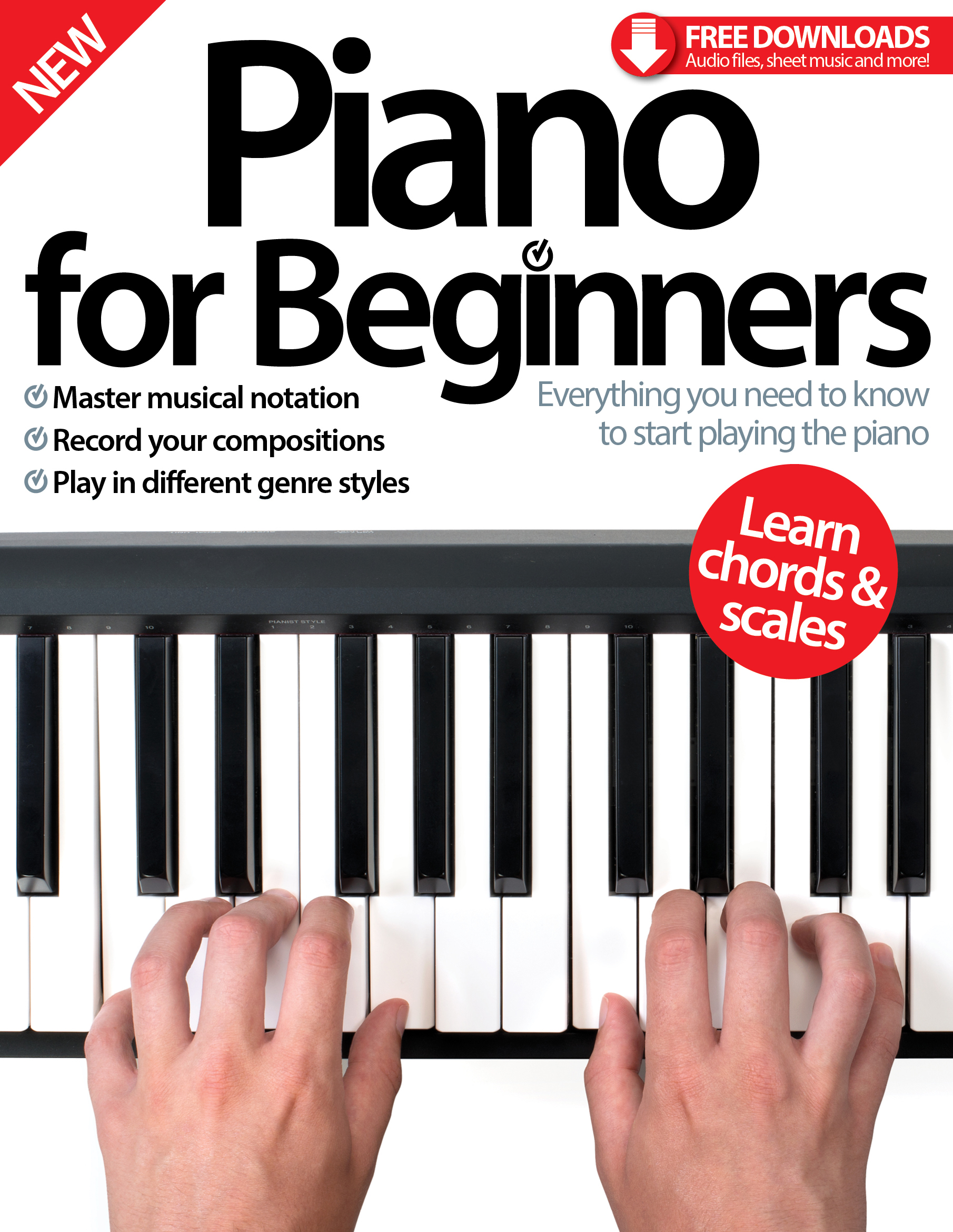Piano for Beginners: Seventh Edition<