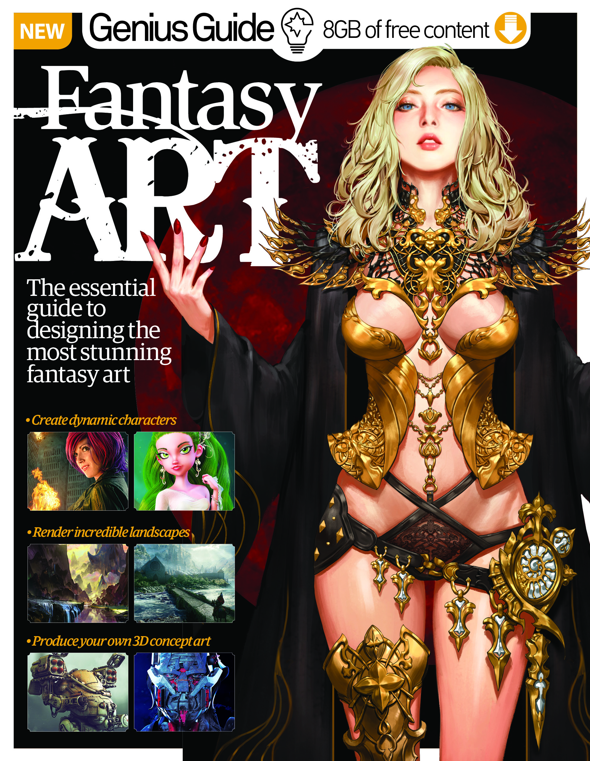 Fantasy Art Genius Guide Volume 3 Revised Edition<