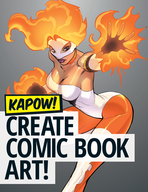 Comic Book Cover Tutorial ~ Draw comic book elements filesilo