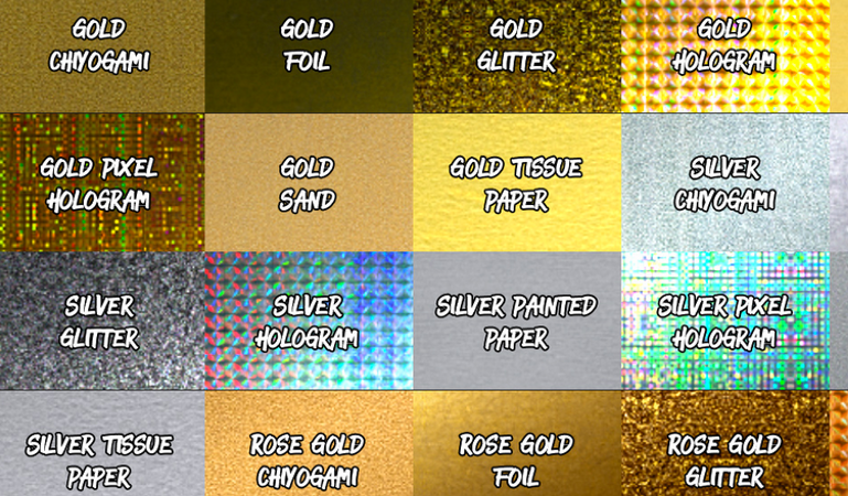 24 Silver and Gold Photoshop textures | FileSilo co uk
