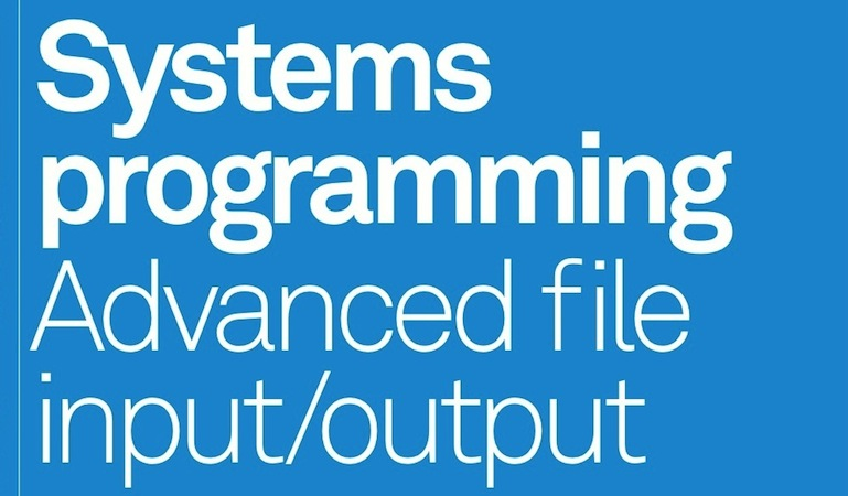 Advanced file input/output