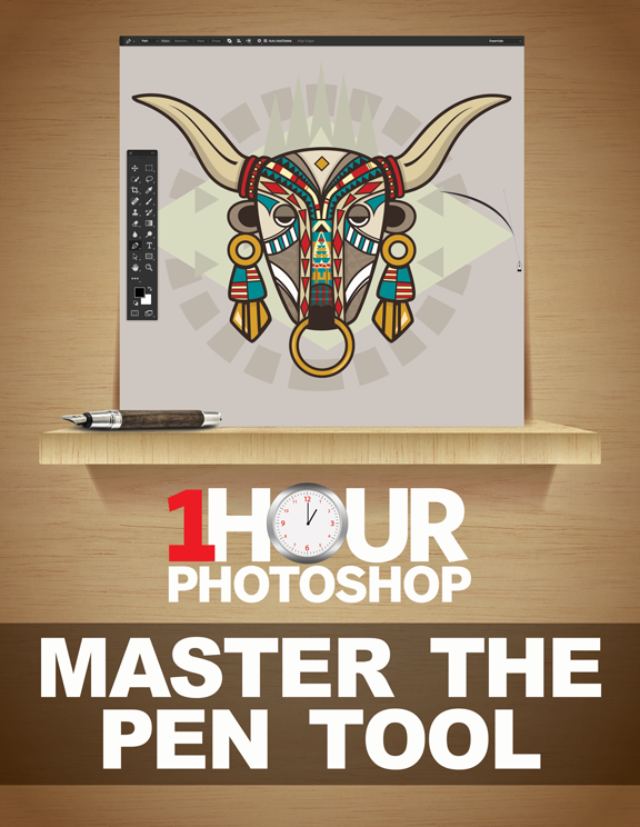 1 Hour Photoshop: Master the Pen tool<