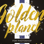 Golden Planet creative pack containing 386 elements
