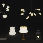 10 3D Lamps and lights
