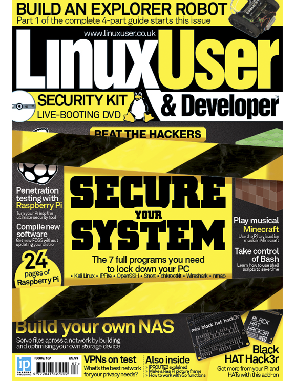 Linux User & Developer 167<