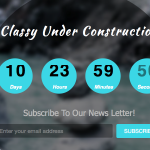 Classy under construction responsive web template