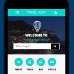 Travel Hunt responsive web template