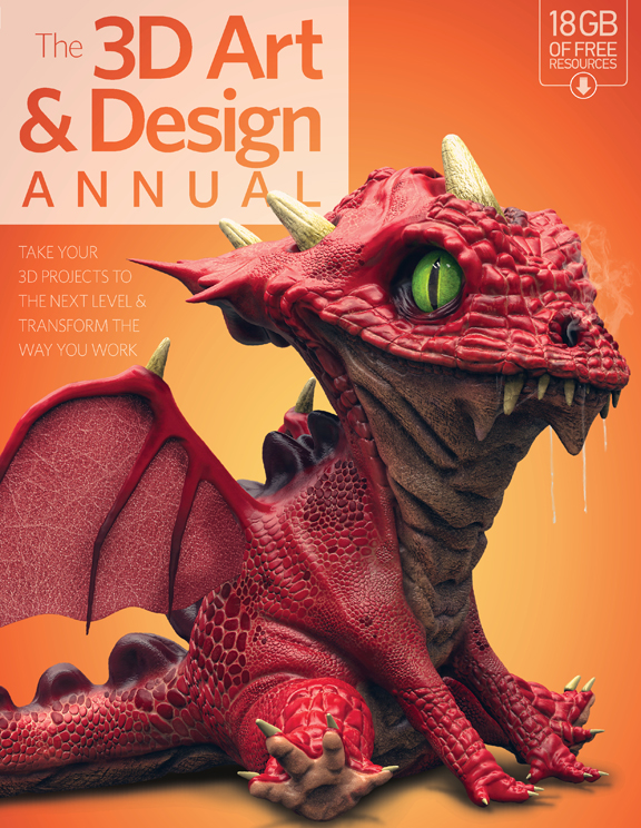 3D Art & Design Annual – Volume 2<
