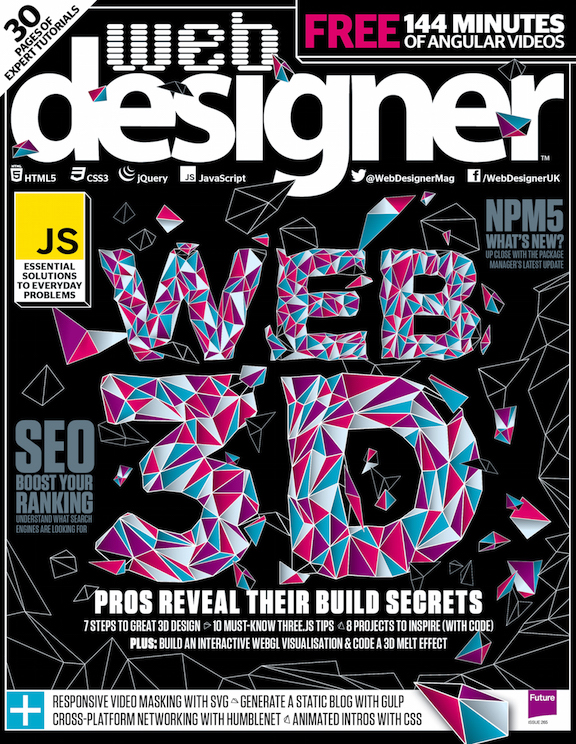 Web Designer 265 cover